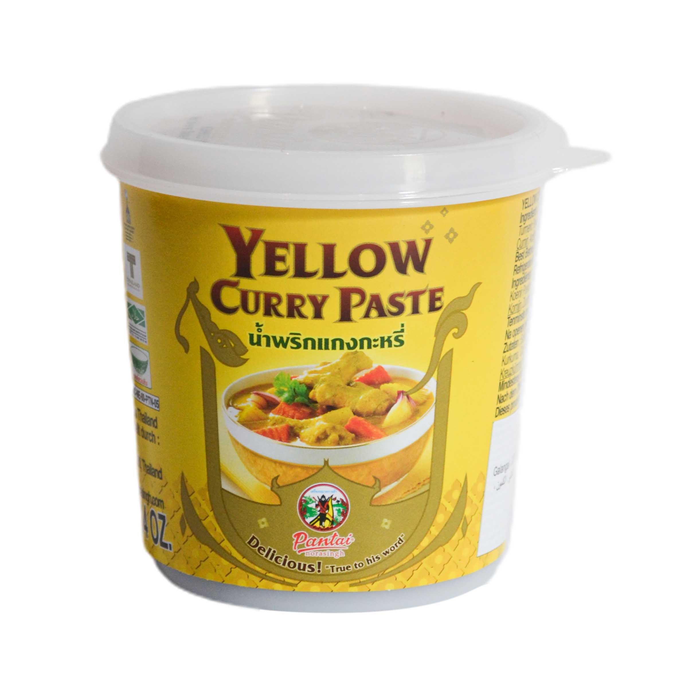 Yellow Curry Paste, 400 q