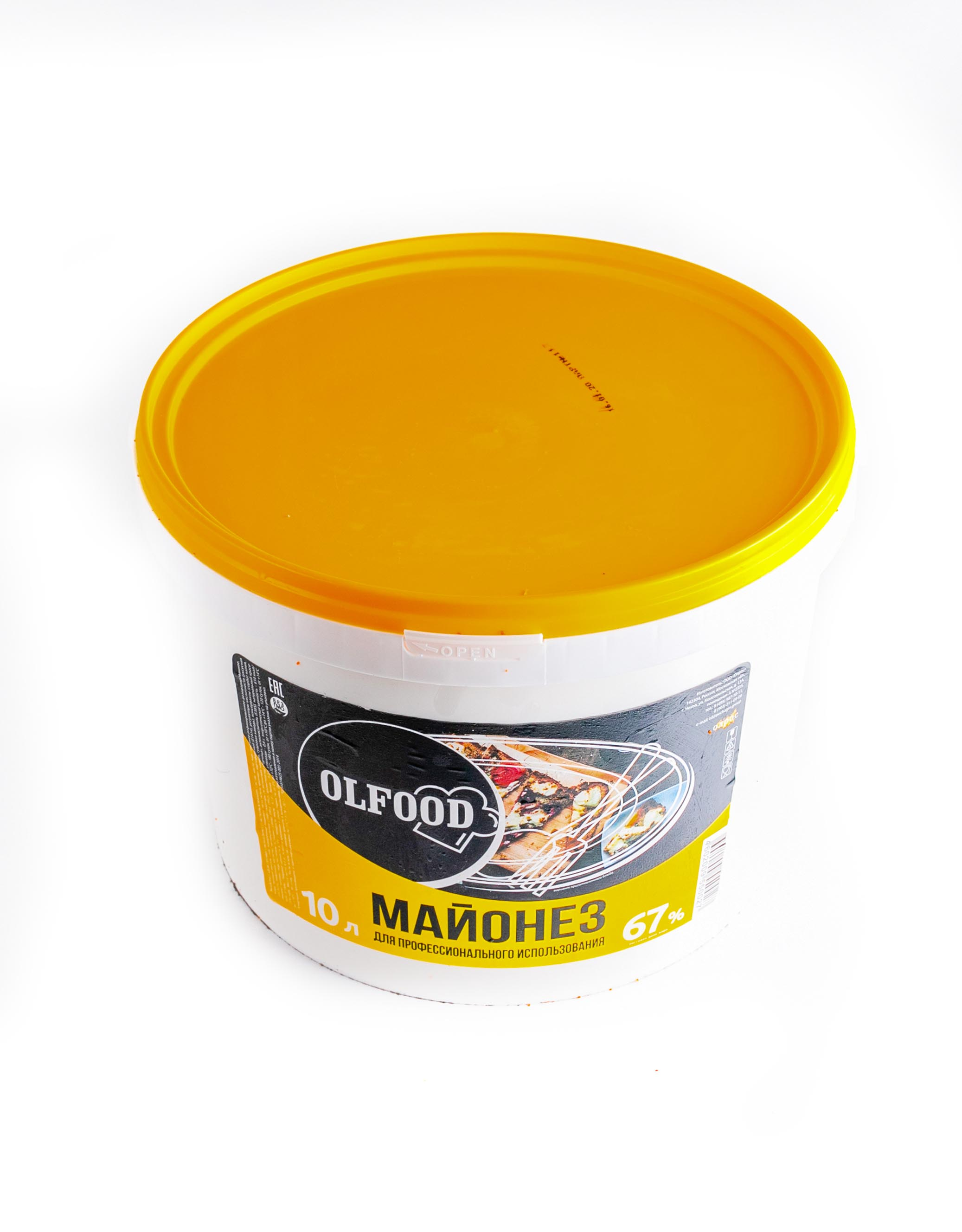Mayonnaise Olfood 67% 10kg is a high quality mayonnaise made from natural methods.