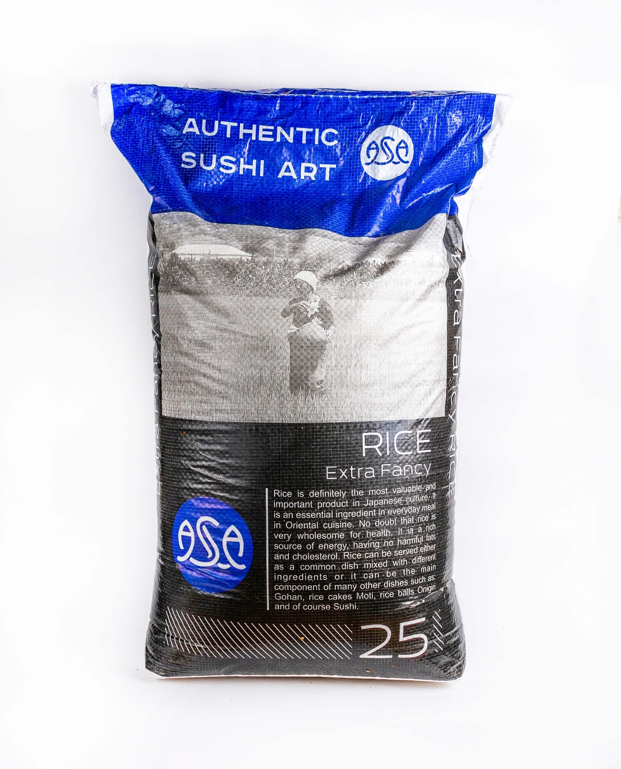 sushi rice 20kg ASA