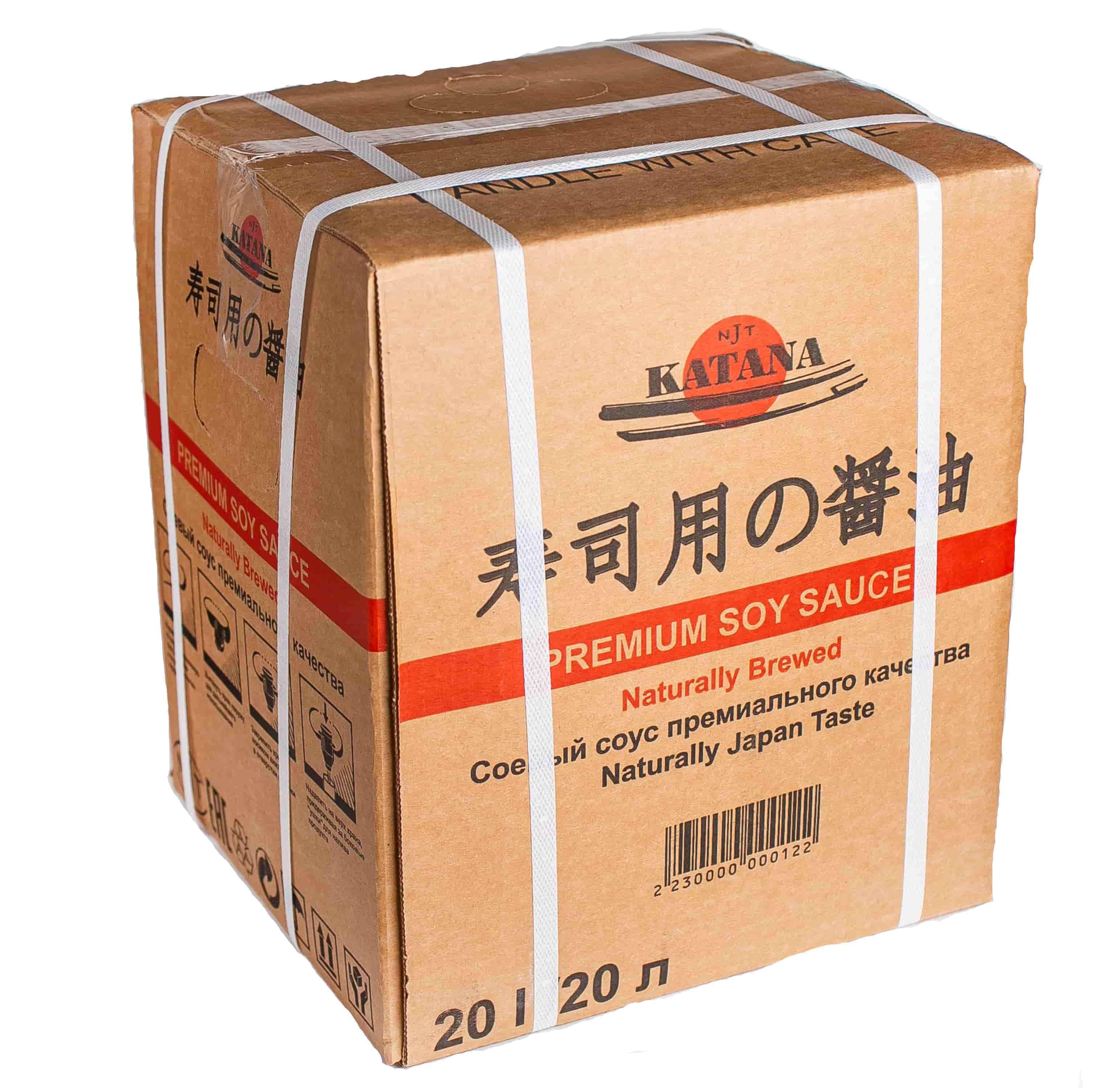 Katana soya sousu 20 lt çin və yapon mətbəxində əsas souslardan biridir.