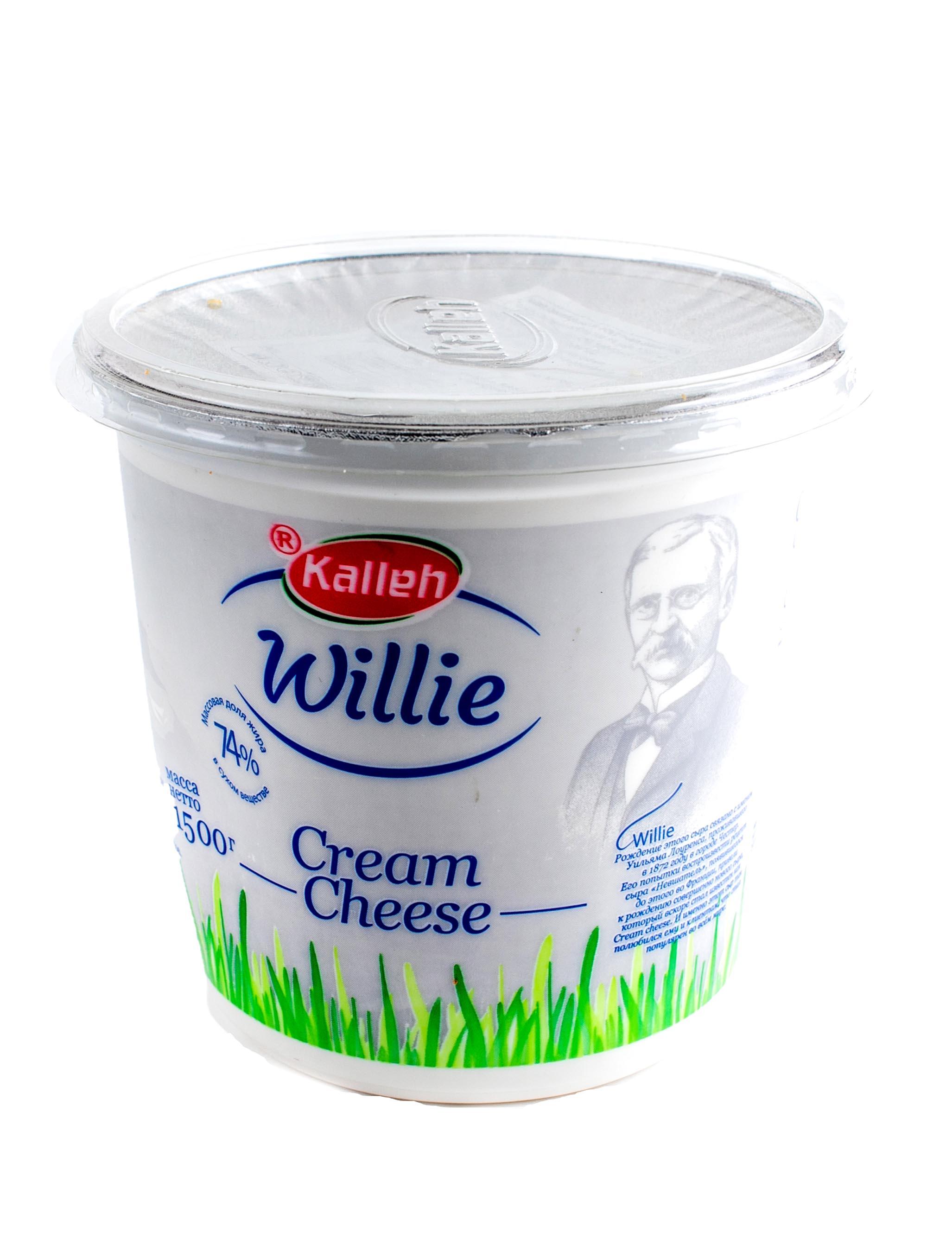 Krem Pendir Willie 74% 1,5 kg