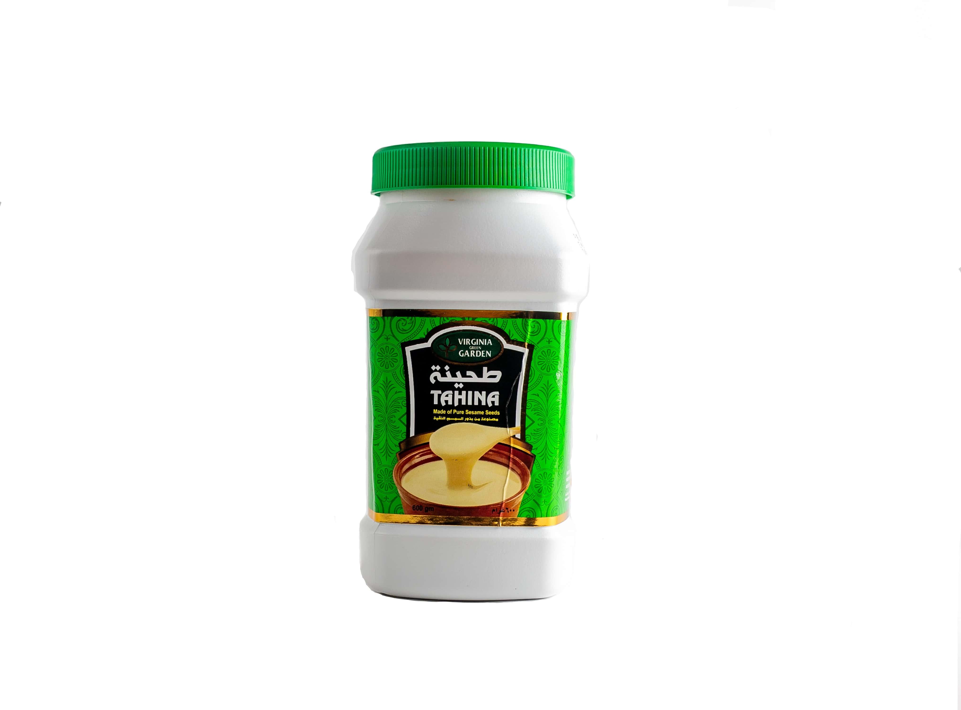 Паста Тахина Verginia Garden - это густая паста из кунжута.